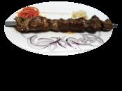 Шашлык из печени / Shish kebab of beef's liver