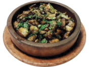 Шампиньоны жареные по-грузински / Georgian roast champignons