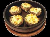 Шампиньоны жареные по-тифлисски / Tiflish roast champignons