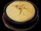 Кукурузная лепёшка на кеци / Bread of corn roast оп the clay dish